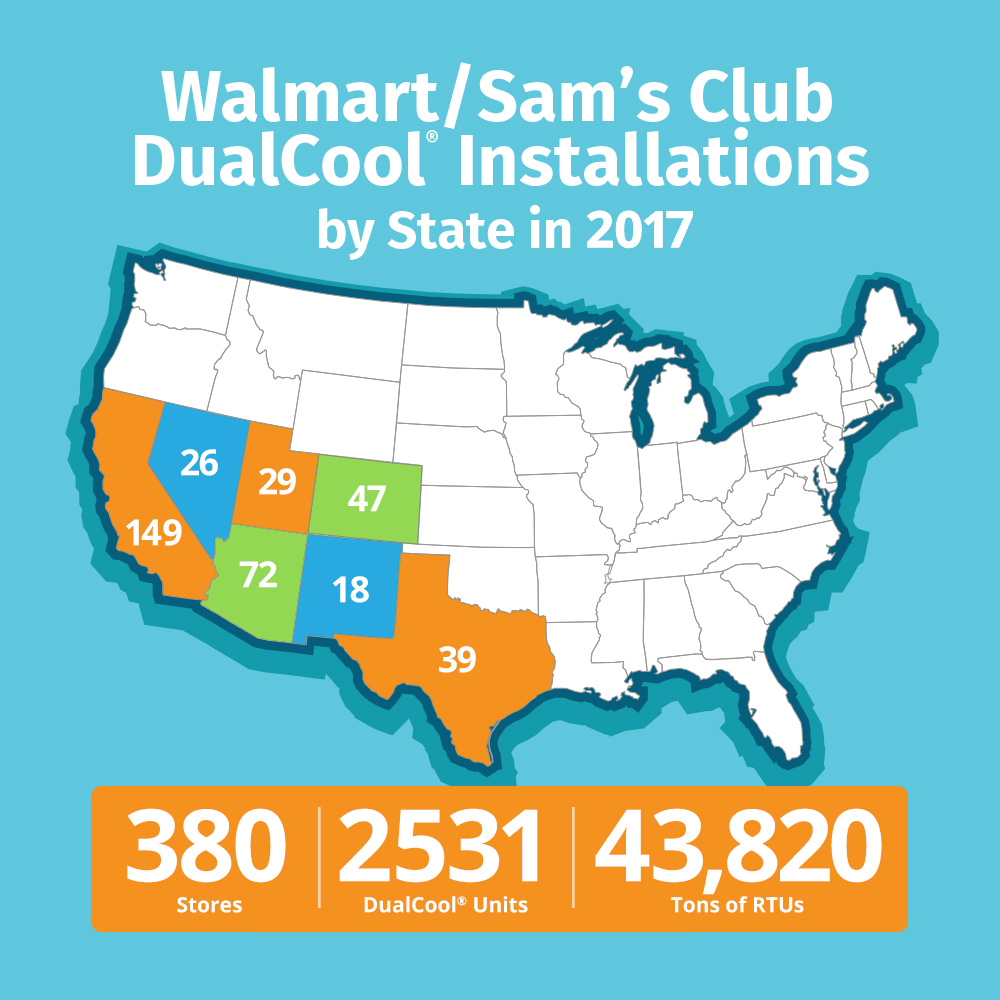 DualCool_Installations_By_State_2017_Map
